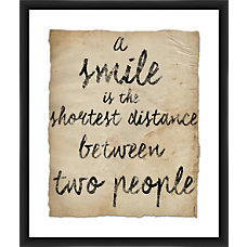 PTM Images Framed Wall Art Smile