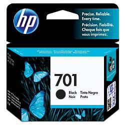 HP 701 Black Original Ink Cartridge