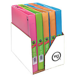 Wilson Jones Flex Poly Fashion Binders