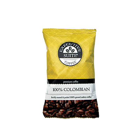 Executive Suite 100% Colombian Coffee, 2 Oz., Box Of 42