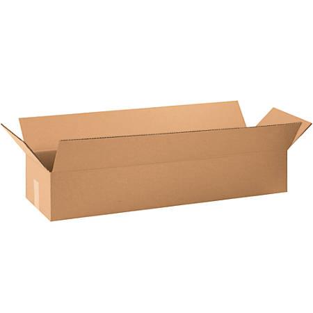 "Office Depot® Brand Long Corrugated Boxes, 6""H x 10""W x 36""D, Kraft, Bundle Of 25"