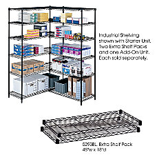 Safco Extra Shelves For Industrial Wire