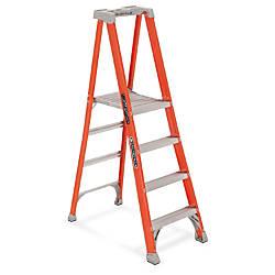 Louisville 4 Fibrglss Platform Step Ladder