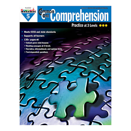 Newmark Learning Common Core Comprehension Workbook, Grade 5