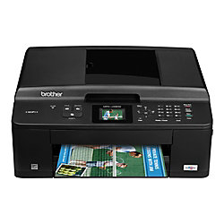 Brother® MFC-J430w Wireless Inkjet All-In-One Printer, Copier, Scanner, Fax