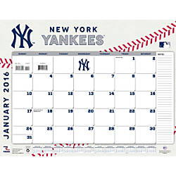Turner Sports Monthly Desk Calendar 22 X 17 New York
