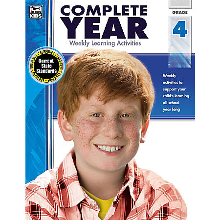 Thinking Kids Complete Year Books, Grade 4