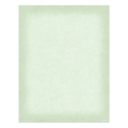 "Great Papers! Design Paper, Sorrento, 8 1/2"" x 11"", 50 Lb, Green, Pack Of 80"