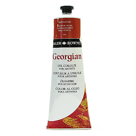 Daler-Rowney Georgian Oil Colors, 7.5 Oz, Venetian Red