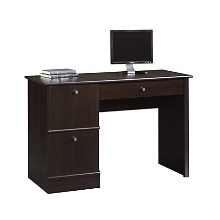 Sauder® Select Computer Desk, Cinnamon Cherry