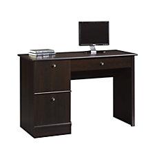 Sauder Select Computer Desk Cinnamon Cherry
