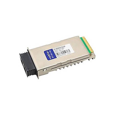 AddOn MSA and TAA Compliant 10GBase-SR X2 Transceiver (MMF, 850nm, 300m, SC, DOM)