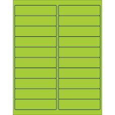 Office Depot Brand Labels LL177GN Rectangle