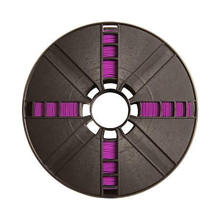 MakerBot PLA Filament Spool, MP05778, Large, True Purple, 1.75 mm