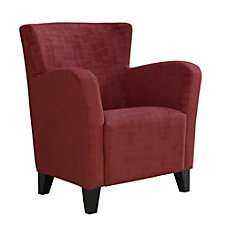 Monarch Specialties Brushed Velvet Accent Chair