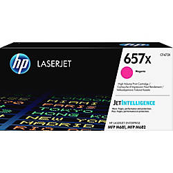 HP 657X Original Toner Cartridge Magenta