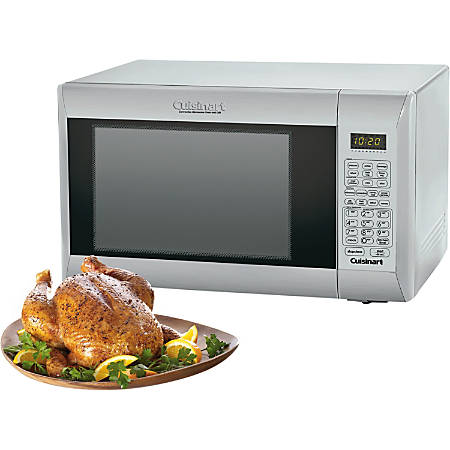"Cuisinart CMW-200 Microwave Oven - Combination - 8.98 gal Capacity - Microwave, Grilling, Baking, Roasting - 1000 W Microwave Power - 1100 W Grill Power - 12"" Turntable - 110 V AC - Countertop"