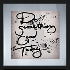 PTM Images Framed Art Do Something