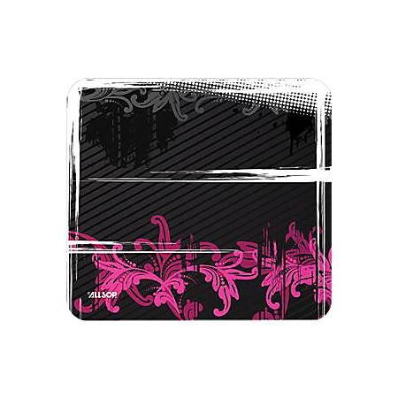 "Allsop NatureSmart Mousepad Urban Pink Floral - 0.1"" x 8.5"" Dimension"