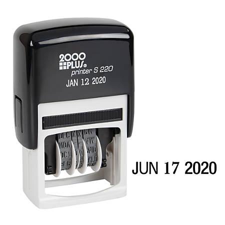 """Cosco 2000PLUS Light Duty Line Dater, 4 1/8""""H x 2 11/16""""W x 1 1/2""""D"""