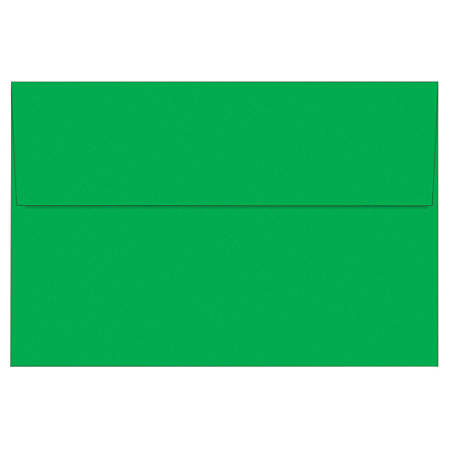 "Great Papers!® Holiday Envelopes, Bright Green, 6"" x 9"", Pack Of 50"