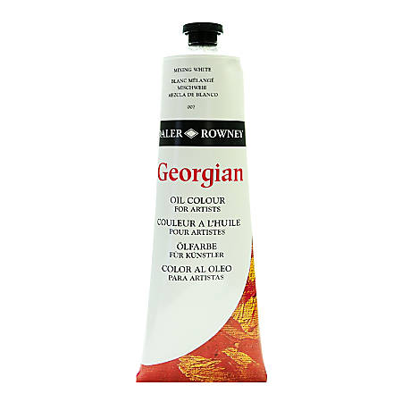 Daler-Rowney Georgian Oil Colors, 7.5 Oz, Mixing White