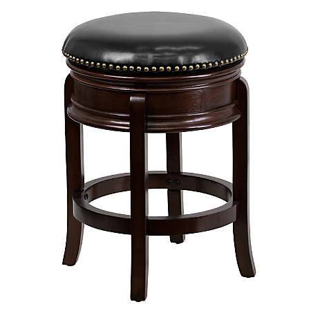 Flash Furniture Backless Counter Stool, Cappuccino