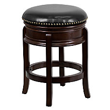 Flash Furniture Backless Counter Stool Cappuccino