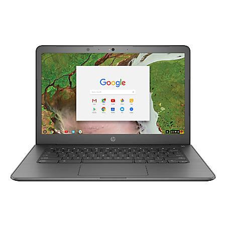 "HP Chromebook 14-ca020nr Laptop, 14"" Screen, Intel® Celeron®, 4GB Memory, 16GB eMMC, Google Chrome OS™"