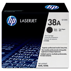 HP 38A Black Original Toner Cartridge