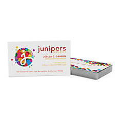 Color Core Business Cards 2 Sided