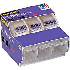 Scotch GiftWrap Tape 075 Width x