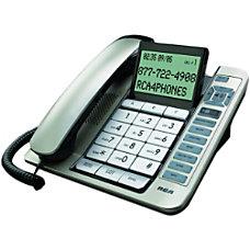 RCA 1114 Standard Phone Silver Black