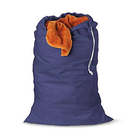 "Honey-Can-Do Landry Bags, 36"", Blue, Pack Of 2"