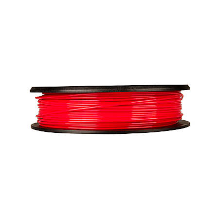 MakerBot PLA Filament Spool, MP05789, Small, True Red, 1.75 mm