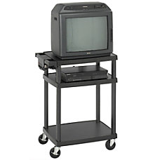 Safco 42 Tall Adjustable AudioVisual Cart