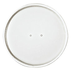 Dart Vented Paper Lids For Food