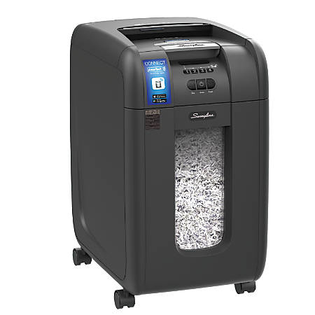 Swingline™ Stack-And-Shred™ 300X Auto-Feed 300 Sheet Shredder