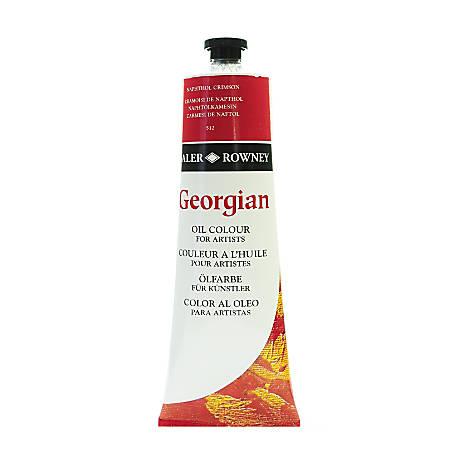 Daler-Rowney Georgian Oil Colors, 7.5 Oz, Pyrrole Red