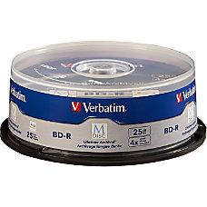 Verbatim M Disc BD R 25GB
