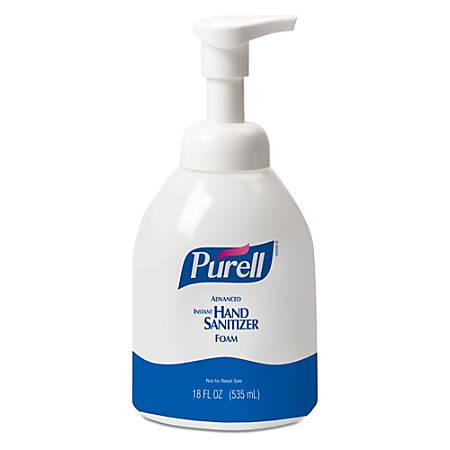 Purell® Instant Hand Sanitizer Foam, 18 Oz.