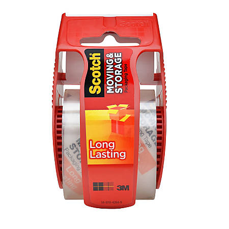 ScotchR Long Lasting Moving Storage Tape With Refillable Dispenser 2 X
