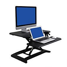 FlexiSpot AlcoveRiser Sit To Stand Desk