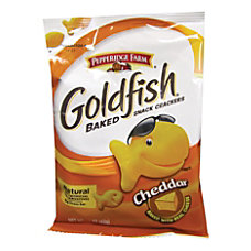 Pepperidge Farm Goldfish Baked Crackers Cheddar