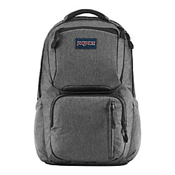 JanSport® Nova Laptop Backpack, Black/White Herringbone