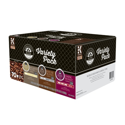 Executive Suite Coffee Keurig K-Cup Pods Variety Pack (70 Pods)