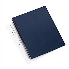 GBC Linenweave 30percent Recycled Binding Covers