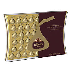 Hersheys Kisses Deluxe Hazelnut Chocolate 144