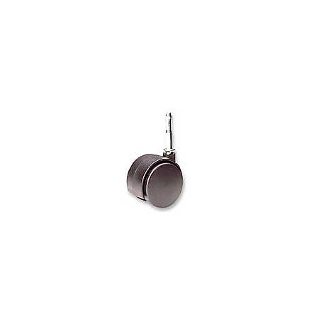 Office Depot® Brand Get It Movin' Soft-Wheel Casters For Metal Bases On Hard Floors & Chairmats, Pack Of 2