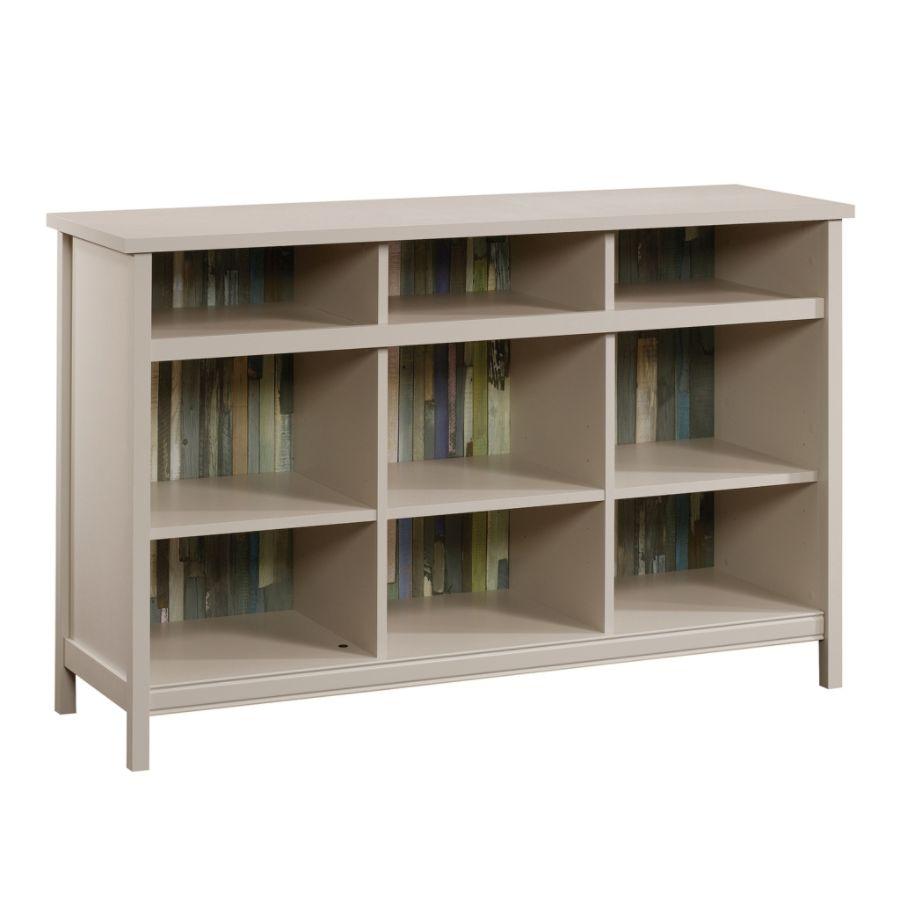 Sauder Adept Storage Credenza 9 Shelves Cobblestone By Office Depot U0026  OfficeMax